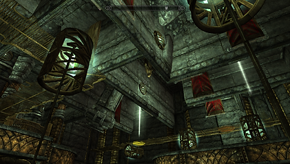 The player can only access the top floor by using his clone.