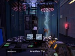 Area 2 - The Cloner showcase