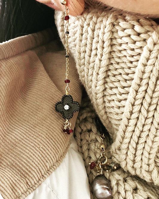 Ruby Deli Earrings