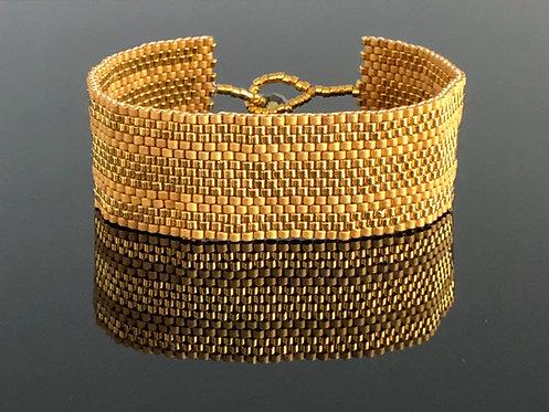 Alati 24k gold plated seed bead
