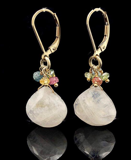 Moonstone Bliss Earrings
