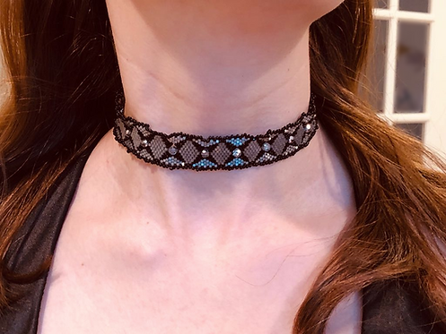 The Beaded Choker