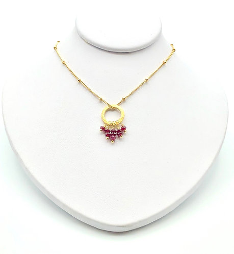 Ruby Friday Necklace