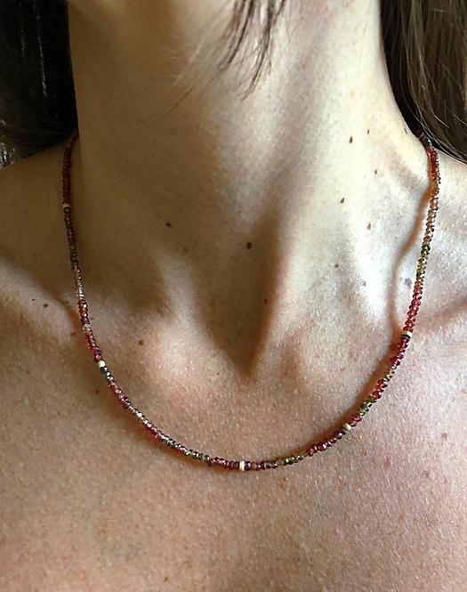 Tundra Sapphire Necklace