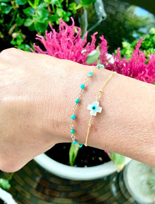 Santorini Wrap Bracelet or Necklace