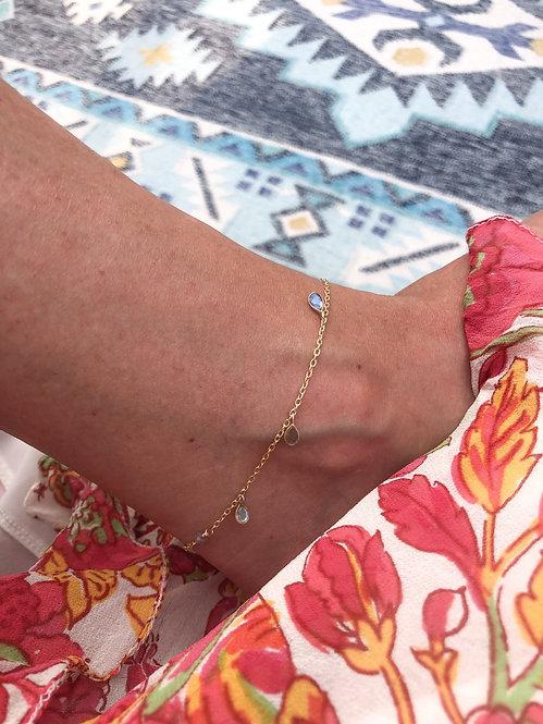 Labra Drops Anklet