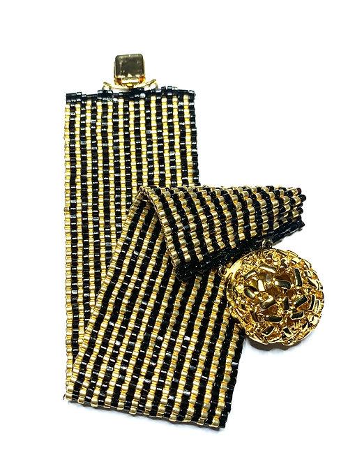 Gomes bead woven bracelet