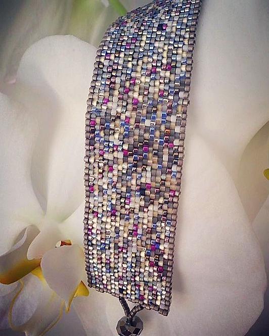 K Beaded Bracelet