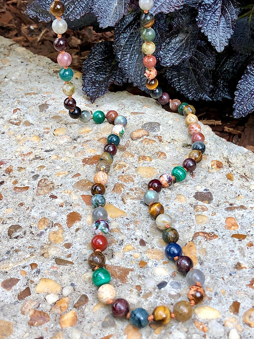 Serrano Long Story Necklace