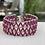 Thumbnail: Pink Lacy beaded bracelet