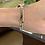 Thumbnail: Double Green Tourmalines Bracelet