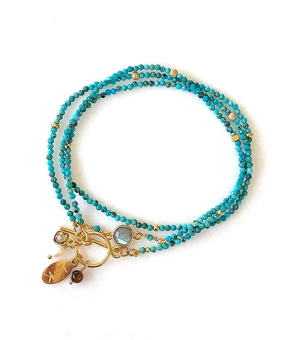 TriTrap Santorini Bracelet or Necklace