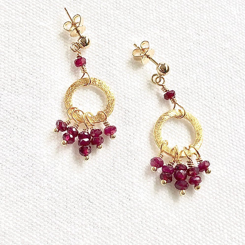 Ruby Friday Earrings