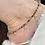 Thumbnail: Tourmaline Anklet II - rondelle beads