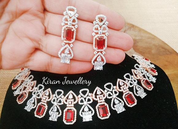Ruby Elegant Necklace