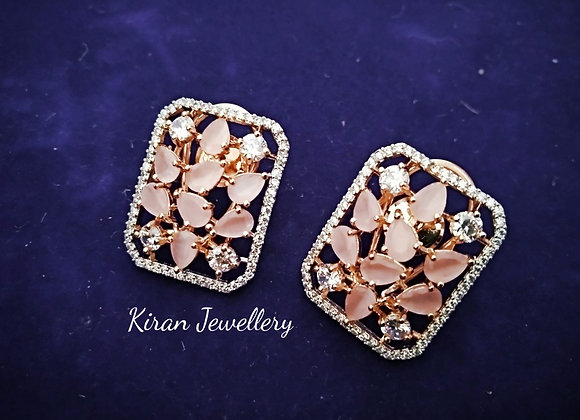 Baby Pink Color Studs