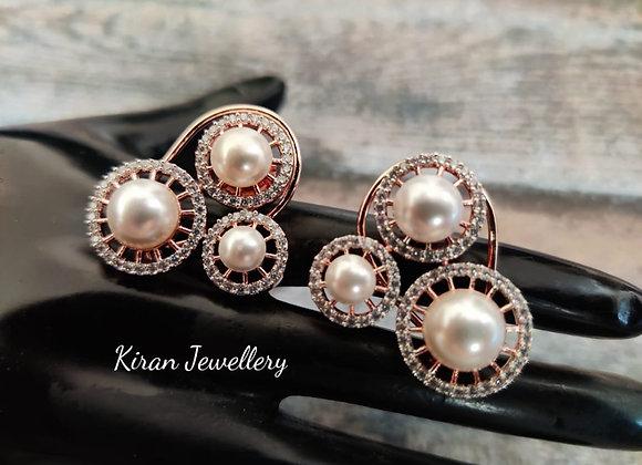 Elegant Pearl Studs