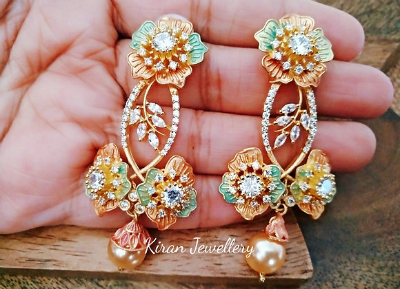 Lovely Flower Earrings