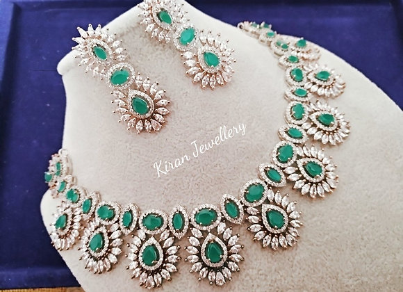 Green Colored Necklace