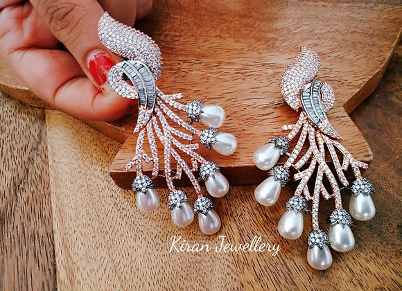 RoseGold Polish Earrings