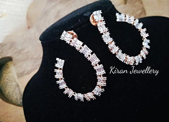 Elegant and Stylish AD Earrings
