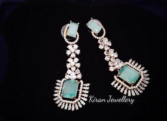 Simple and Elegant AD Earrings