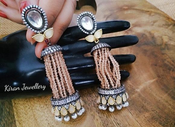 Indo-Western Look Stylish Jhumki