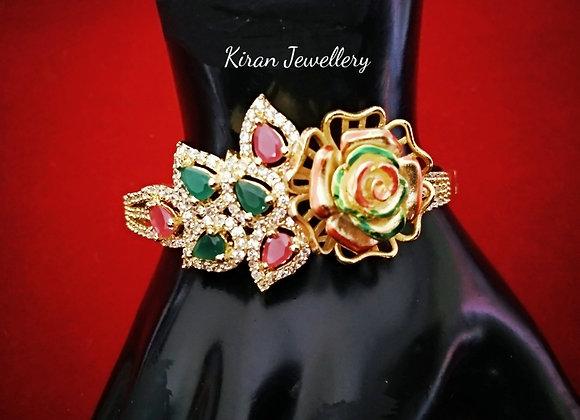 Multicolor Flower Bracelet
