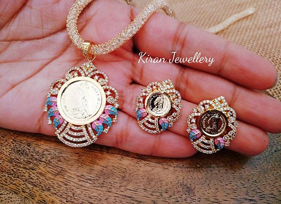 Coin Pendant Set