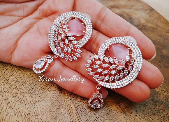 Pink Color Stylish Studs