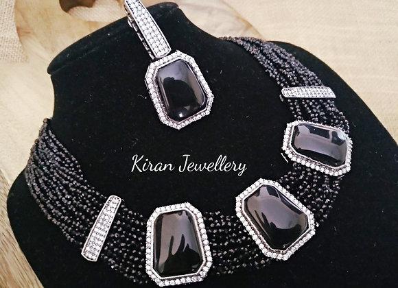 Black Color Elegant Necklace