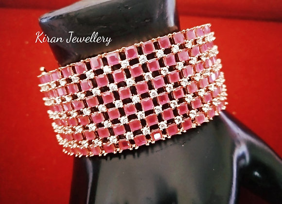 Ruby Color Elegant Bracelet