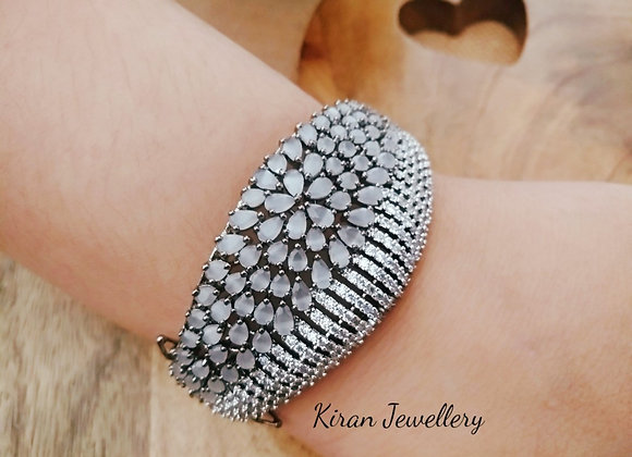 Grey Stone Stylish Bracelet