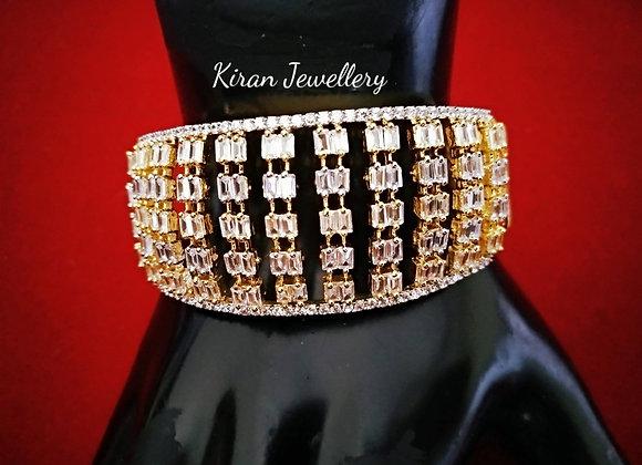 Elegant Diamond Look Bracelet