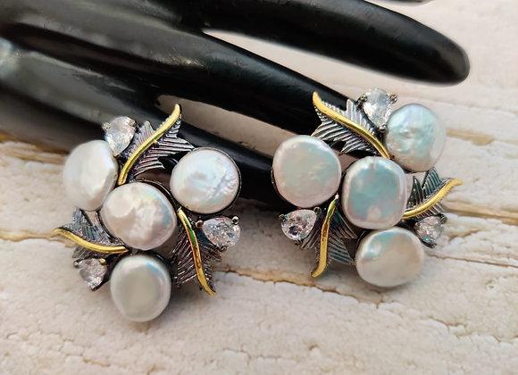 Baroque Pearl Stylish Studs
