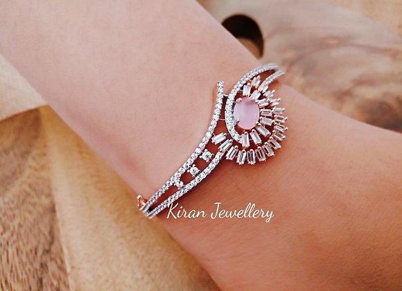 Pink Stone AD Bracelet