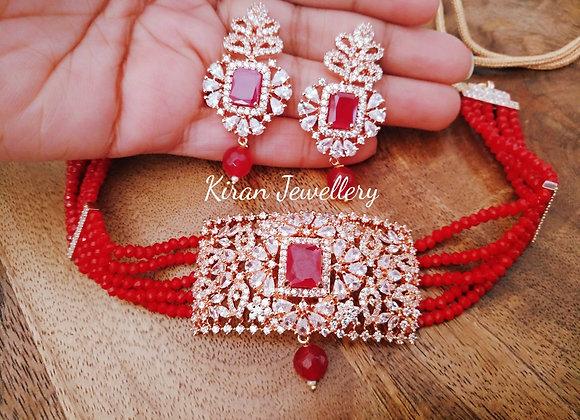 RoseGold Polish Ruby Color Chic Set