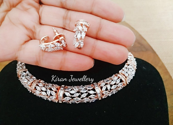 Rose gold Polish Elegant Necklace