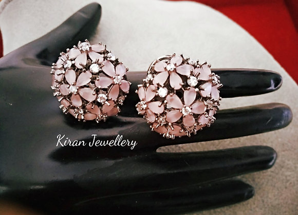 Pink Color Stylish Studs
