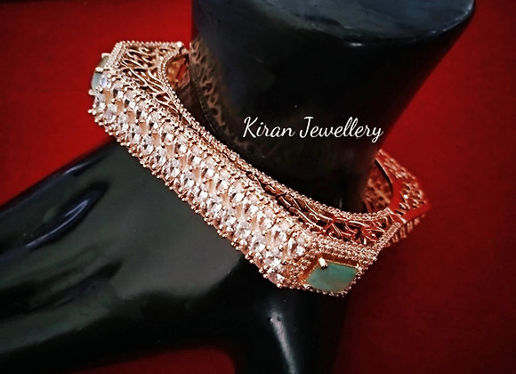 SeaGreen Stone Stylish Bracelet