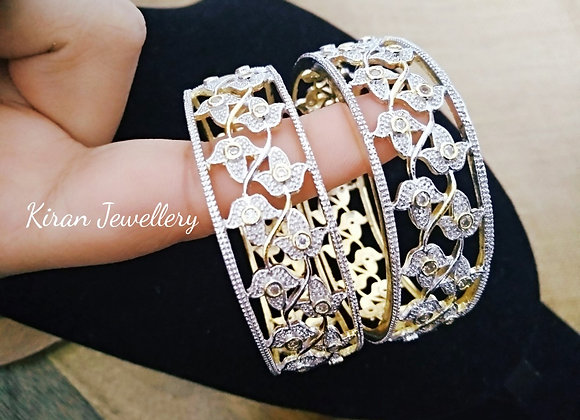 Simple AD Broad Bangles