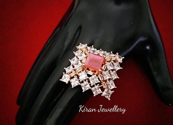 Square Shaped Elegant Ring