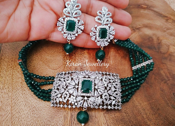 Green Color Chic Set