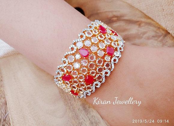 Royal Look Ruby Bracelet