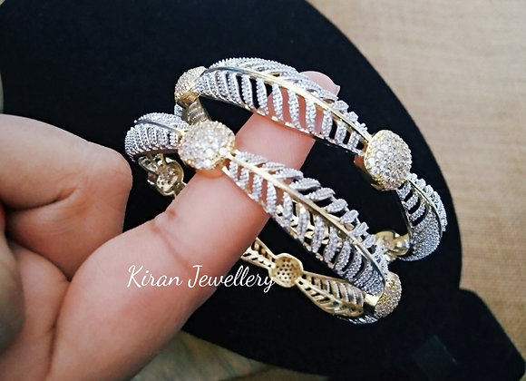 Bangles in Diamond Look