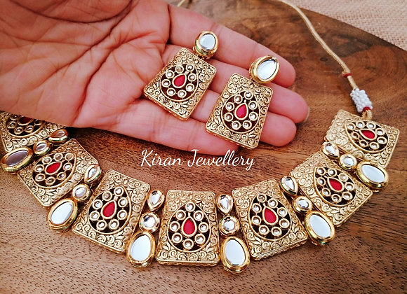 Elegant Kundan Set