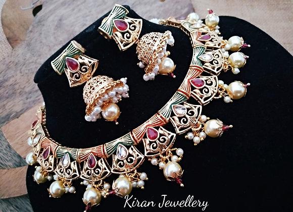 Elegant Polki Necklace