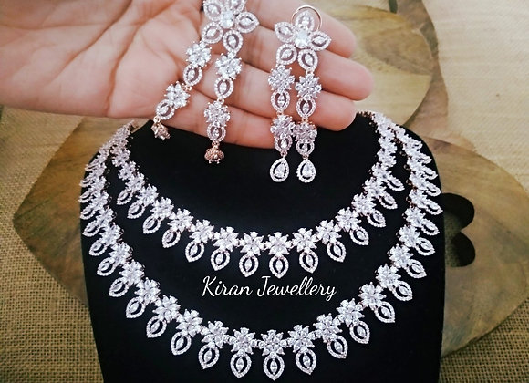 Double Line Stylish Necklace