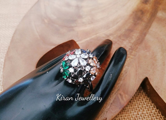 Multicolor  Elegant Ring