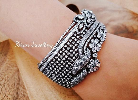 Black Polish AD Bracelet